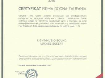 Six Band – Firma Godna Zaufania